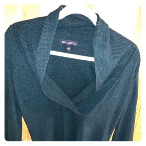Banana Republic Dark Green Luxury Cashmere Sweater